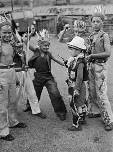Our old style of play....this was when childrens behaviour was just that...kids being kids.